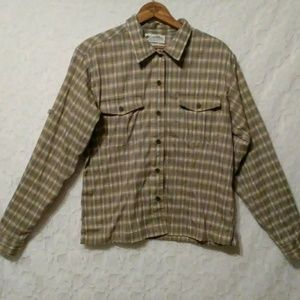 Columbia Women's Plaid Fitted Shirt GRT